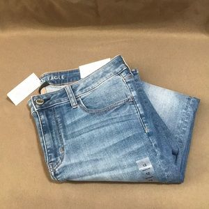 New American Eagle Low Rise Stretch Jegging Sz 12